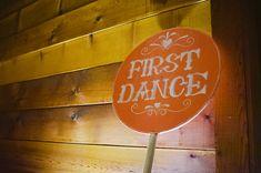 My Vintage Carnival Wedding @ Cornerstone. Custom wood signage!