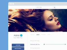 Facebook Artist Facebook Artist Page, Skyfall, Adele, Messages, Layout, Concept, Nice, Pattern, Musica