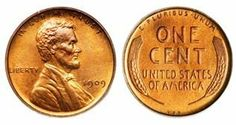 Lincoln Wheat Cent Example