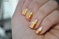 how to tropical nail art