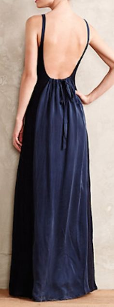 beautiful low back maxi dress  http://rstyle.me/n/nxi56pdpe
