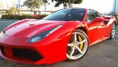 Ferrari 488 GTB Rental in Dubai. Hire Ferrari in Dubai from X Car Rental Ferrari Rental, Car Rental, Pickup And Delivery Service, 488 Gtb, X Car, Ferrari 488, Dubai, Design