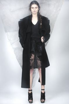 Black Duality Coat /// Contrast Lace Dress with Sleeves Lace Dress With Sleeves, Contrast, Goth, Women Wear, Black, Style, Fashion, Gothic, Black People
