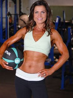 She's 48 years old. This is her program. no excuses!