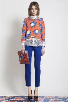 msgm pre-fall 2012 (and I'm not a floral fan)