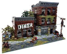 """LEGO Sushi Bar è una """"deliziosa"""" MOC che stupisce per l'elevatissimo numero di particolari che non si riesce a cogliere appieno ad un primo sguardo!"""