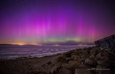 Northern Lights over Poland