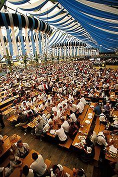 oktoberfest , Germany, Munich, Oktoberfest Beer hall http://www.oktoberfesthaus.com