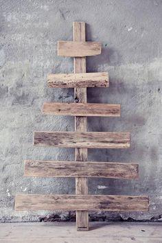 wonen met LEF - specials Kerstboom sloophout, pallethout 120x75cm