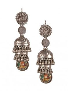 Ganesha Jhumkas