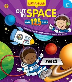 Out in Space Pop-Up Book - Carson Dellosa Publishing Education Supplies