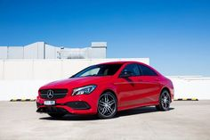 Mercedes CLA 220d AMG Line AU-spec (C117) cars sedan red 2016 Mercedes Benz Cla 250, 2016 Cars, Ac Schnitzer, Shooting Brake, Bmw Cars, Red 2016, Motor Car, Dream Cars, Automobile