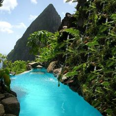 Ladera Resort in Santa Lucia. Vacation Places, Vacation Destinations, Dream Vacations, Places To Travel, Beach Vacations, Tropical Vacations, Vacation Ideas, Holiday Destinations, Dream Vacation Spots