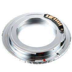 $9.25 (Buy here: https://alitems.com/g/1e8d114494ebda23ff8b16525dc3e8/?i=5&ulp=https%3A%2F%2Fwww.aliexpress.com%2Fitem%2FEMF-AF-Confirm-Adapter-For-M42-Lens-to-Canon-EOS-5D-III-70D-100D-650D-700D%2F32532911109.html ) EMF AF Confirm Adapter For M42 Lens to  EOS 5D III 70D 100D 650D 700D DC632 for just $9.25