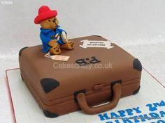 Image result for paddington bear birthday cake Bear Birthday, Birthday Cake, Paddington Bear Party, Suitcase Cake, No Bake Cake, Baking, Image, Cakes, Boys