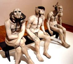 jane alexander butcher boys - Google Search-South African sculpter Jane Alexander