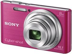 Cámara de fotos Sony Cyber-shot DSC-W730P de color rosa. Graba vídeo HD, la tienes en http://www.audiotronics.es/product.aspx?productid=165146