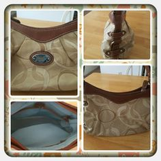 Woman's Small Purse By Rosetti  Woman's Small Purse by Rosetti In A Cream And Beige Pattern. This Bag Has Been Used There's An Interior Zippered Pocket And 2 Interior Slip Pockets  TRADES  PAYPAL  LOWBALLING OPEN TO REASONABLE OFFERS  Rosetti Bags Mini Bags