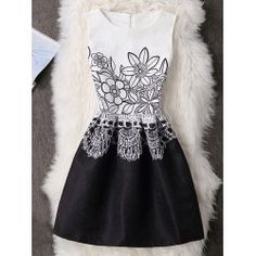 SHARE & Get it FREE | Floral Sleeveless Back Zip A-Line DressFor Fashion Lovers only:80,000+ Items • FREE SHIPPING Join Twinkledeals: Get YOUR $50 NOW!