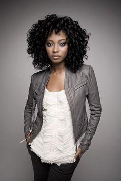 Curls... nice jacket