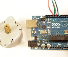 Instructable: Arduino and stepper motors.