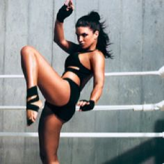Gina Carano, GQ January 2012 - why wouldn't I want to look this good?? Hello, legs!!
