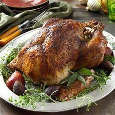 Herb-Brined Turkey Recipe from Taste of Home