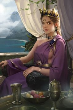 Roxana by tong shuai - Your Daily Dose of Amazing beautiful Creativity and Digital Art - Fantasy Characters: Archers Assassins Astronauts Boners Knights Lovers Mythology Nobles Scholars Soldiers Warriors Witches Wizards Dnd Characters, Fantasy Characters, Female Characters, Fantasy Art Women, Fantasy Girl, Fantasy Princess, Disney Princess, Fantasy Inspiration, Character Inspiration