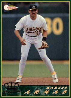 Marcos Armas Oakland Athletics