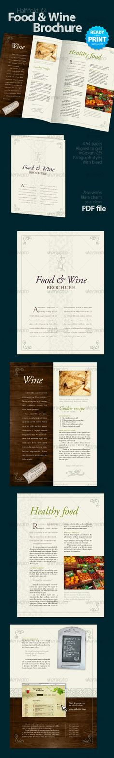 Food  Wine Brochure (4 Pages)