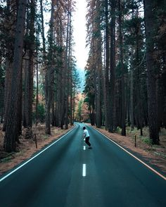 Having the whole road to yourself feels good /Asiaskate/ Adventure Is Out There, Adventure Time, Skate Surf, Aesthetic Pictures, The Great Outdoors, Travel Photography, Scenery, Kitesurfing, Around The Worlds