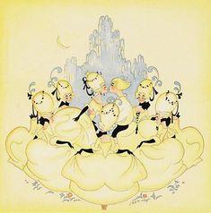 How Hans Christian Andersen Revolutionized Storytelling, Plus the Best Illustrations from 150 Years of His Beloved Fairy Tales | Brain Pickings Illustration for 'The Swineherd' by Swedish artist Einar Nerman, 1923