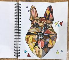 Watercolour painting on paper. Defined by black ink. Watercolor Animals, Watercolour Painting, Painting & Drawing, Animal Drawings, Behance, King, Paintings, Shapes, God
