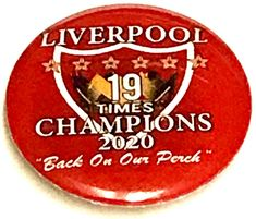 Liverpool Premier League 2020 Champions Of England Badge Liverpool Fc Gifts, Liverpool Premier League, England Badge, Button Badge, Champion, Ebay, Badge, Badges