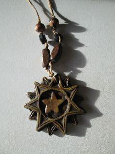 1 Halskette aus Brasilien Hippie Goa Schmuck nr.14 Samen Kette