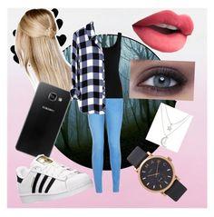 """Sin título #2"" by valeriaingunza on Polyvore featuring moda, Boohoo, Samsung, New Look, adidas, Twenty, Charlotte Russe y Marc Jacobs"