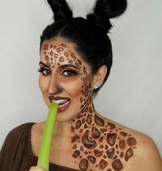 Karneval carnival face makeup giraffe adult Wedding Ceremony Music Music is an e Giraffe Fancy Dress, Fancy Dress Up, Wedding Processional, Wedding Ceremony Music, Classical Wedding Music, Fireworks Music, Bridal Chorus, Giraffe Costume, Pictures At An Exhibition