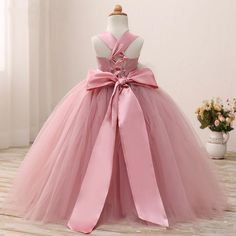 communion dresses Picture - More Detailed Picture about Real Photo Blush Pink Flower Girl Dress First Communion Dresses Girls Kids Ball Gown Evening Gowns Floor Length Ritzee Pageant Picture in Flower Girl Dresses from pouryensu Official Store