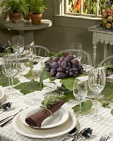 how to decorate for an italian dinner party italian centerpiece martha stewart food