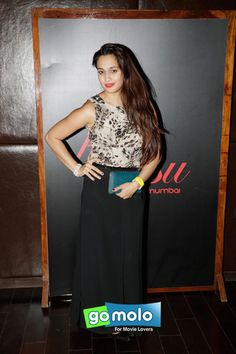 Shweta Pandit at DJ Afrojack's music party in Mumbai