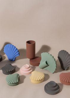 Los Objetos Decorativos — Inked Clay Collection