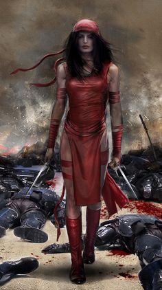 "Elektra<< badass ninja xD ✮✮Feel free to share on Pinterest"" ♥ღ www.unocollectibles.com"
