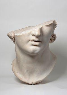 Sculpture Head, Roman Sculpture, Ancient Greek Sculpture, Head Statue, Head Tattoos, Wedding Art, Metropolitan Museum, Greece History, Youth