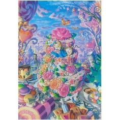 Tenyo Japan Jigsaw Puzzle D 1000 379 Disney Alice IN Wonderland 1000 Pieces #Tenyo