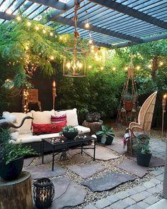 60 Awesome Small Backyard Patio Design Ideas