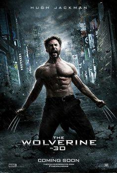 Hugh Jackman as Wolverine. Movie poster composite photo