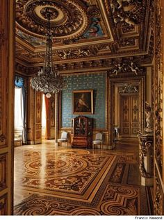 Grand room inside palace
