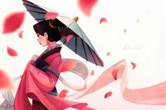 Mulan. Gorgeous fan art.