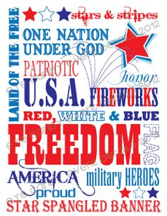 Eye Candy Creative Studio: {FREE MEMORIAL DAY SUBWAY ART} patriotic download