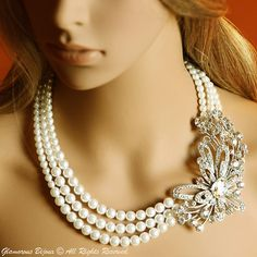 Orabelle Pearl Necklace